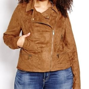 Additionelle Love & Legend Jacket Faux Suede brown